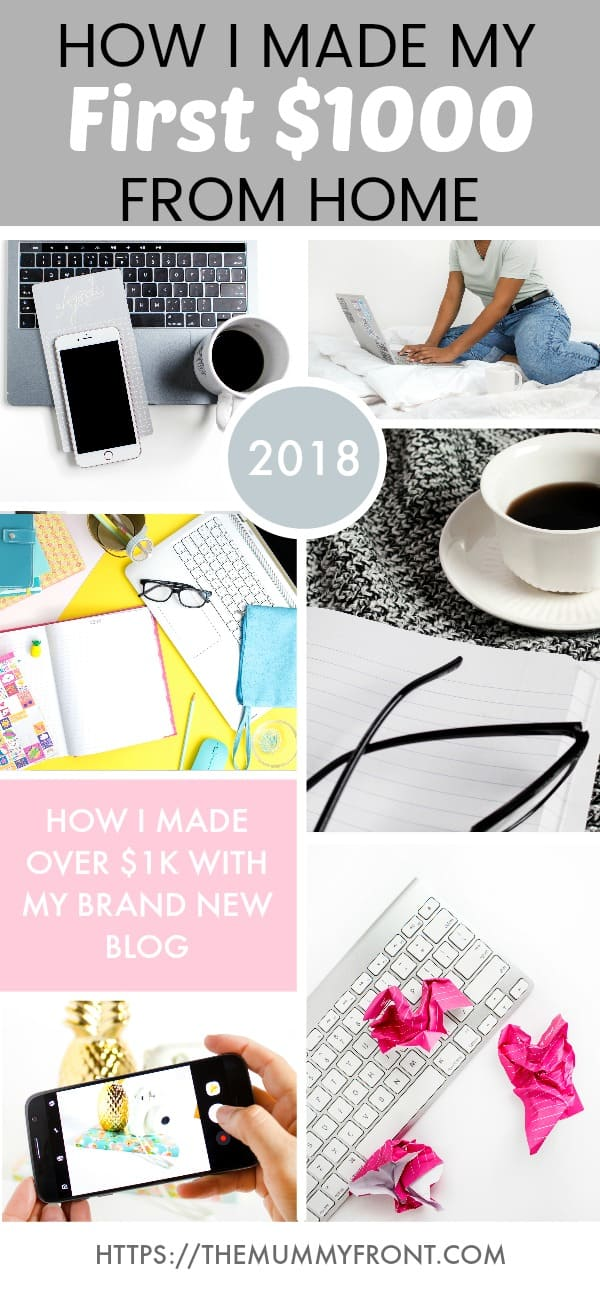 My First Blog Income Report, Find Out How Bloggers Make Money Blogging