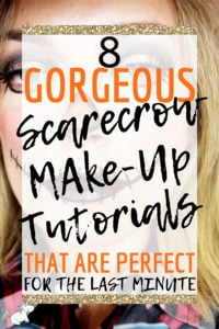8 Gorgeous Scarecrow Make-up Tutorials That Are Perfect for the Lats Minute! The easy halloween scarecrow makeup ideas are all really quick and cheap diy halloween makeup ideas that you can do when you've run out of time to get a halloween costume or if you want something cute and simple this Halloween