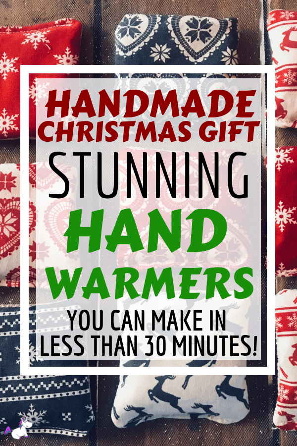 DIY Hand Warmers | The Perfect Handmade Christmas Gift Idea! Cheap & Easy Christmas gift, christmas craft, diy christmas gift, festive craft via https://themummyfront.com christmas project #christmascrafts #handwarmers #diyhandwarmers #themummyfront.com #diychristmasgift #christmasgiftidea #budgetchristmasgift