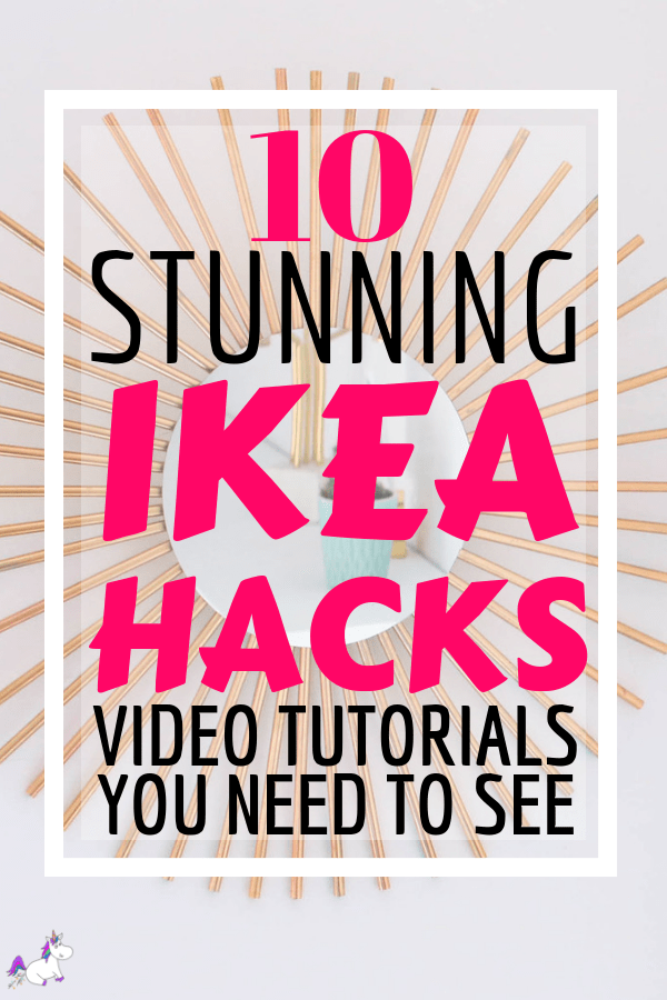 10 Money Saving Ikea Hacks That You Need To Try (With Awesome Tutorials) Ikea hack tutorials, home decor, DIY, DIY Home decor, Home Decor on a budget #ikeahacks #ikeahack #homedecor #diyhomedecor
