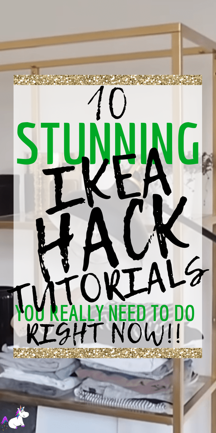 10 Stunning Ikea Hack Tutorials You Really Need To Do | Ikea Hacks | Home Decor DIY | DIY projects | Furniture Hacks | Home Decor On A Budget | Via: https://themummyfront.com #themummyfront #ikeahacks #homedecoronabudget #creativehomedecor | #creativehomedecor