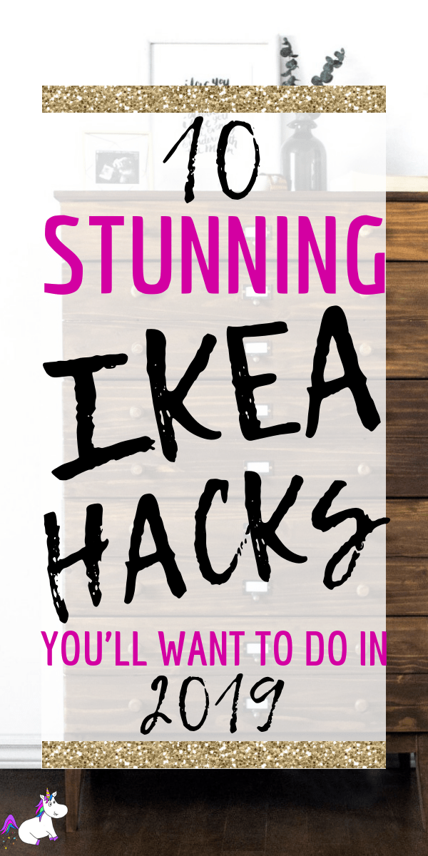 10 Stunning & Easy Ikea Hacks You Must See via: https://themummyfront.com #ikea #ikeahacks #ikeaideas #homedecorideas #homedecor #budgethomedecor #cheap #roomidea #themummyfront #homedecordiy #diydecor #diyprojects