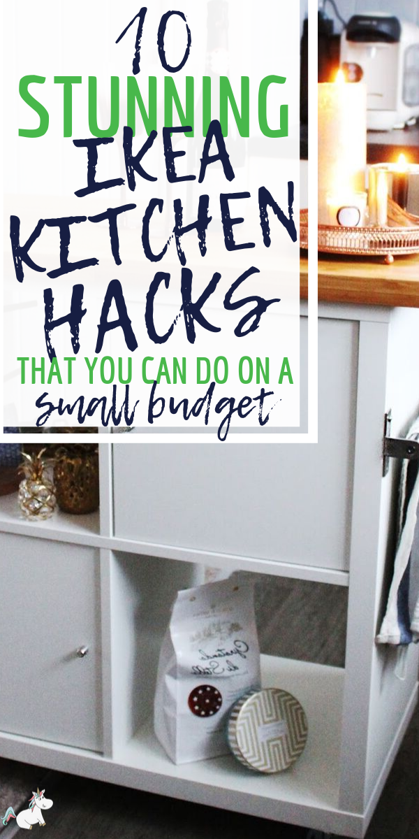 10 Stunning Ikea Kitchen Hacks That You Can Do On A Small Budget. If your kitchen decor is starting to get a little outdated, give these incredible Ikea hack ideas for your kitchen a go! Not only are they the perfect kitchen decor, they're also cheap and easy to do! Click to read.