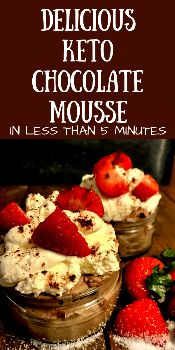 The best Keto Chocolate Mousse   In Under 5 Minutes   low carb dessert   keto dessert   Keto chocolate   keto recipes   Via: https://themummyfront.com #keto #ketochocolatemousse #ketodessert #ketorecipe #themummyfront #lowcarb #ketogenic #chocolatemousse