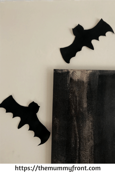 Easy Halloween Crafts ~ Cheap & Easy Bat Halloween Craft For Kids, Awesome Cheap Halloween Party Idea