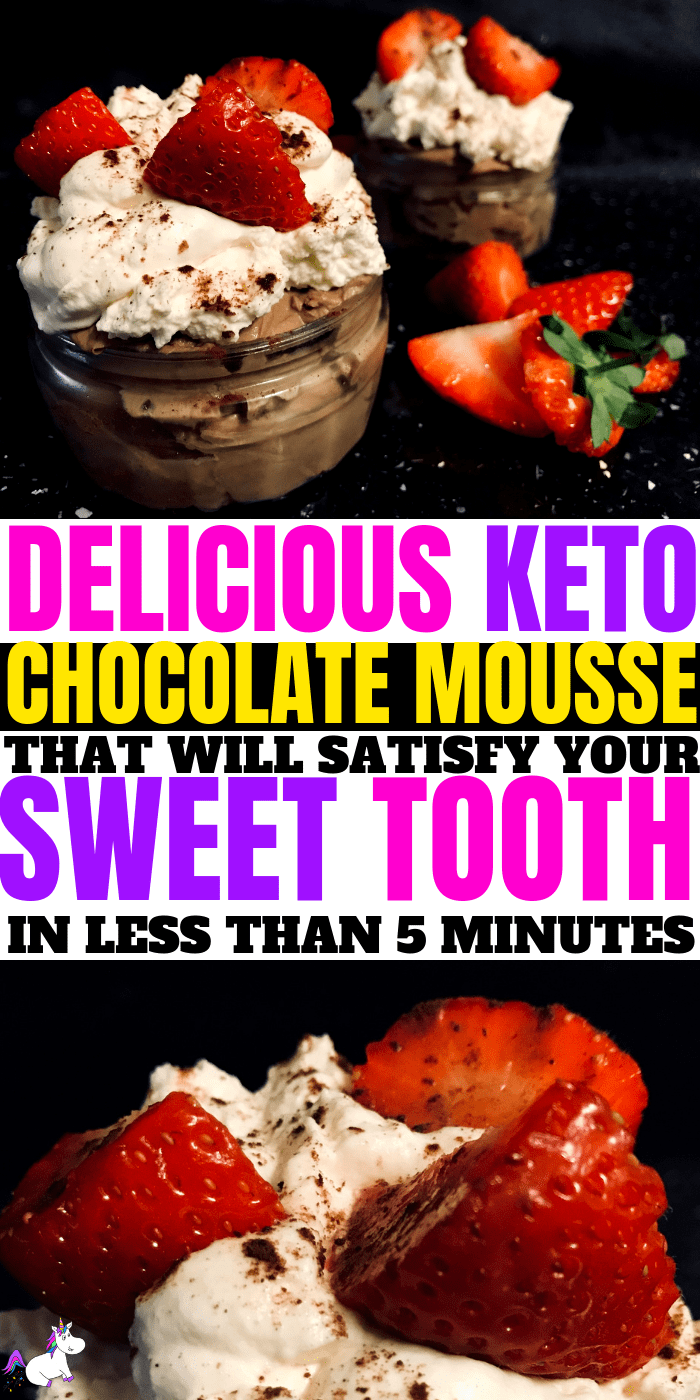 The best Keto Chocolate Mousse | In Under 5 Minutes | low carb dessert | keto dessert | Keto chocolate | keto recipes | Via: https://themummyfront.com #keto #ketochocolatemousse #ketodessert #ketorecipe #themummyfront.com #lowcarb #ketogenic #chocolatemousse