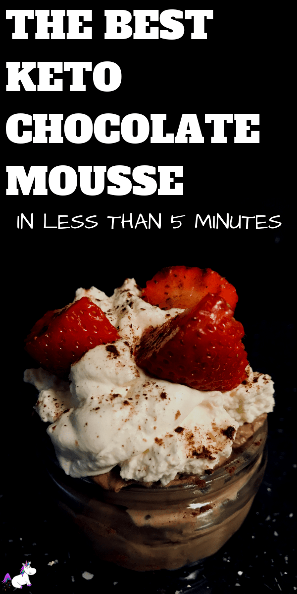 The best Keto Chocolate Mousse   In Under 5 Minutes   low carb dessert   keto dessert   Keto chocolate   keto recipes   Via: https://themummyfront.com #keto #ketochocolatemousse #ketodessert #ketorecipe #themummyfront.com #lowcarb #ketogenic #chocolatemousse