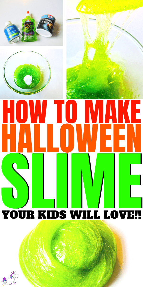 How To Make Halloween Slime Your Kids Will Love | easy slime recipe for kids | #slime #halloweencrafts #halloween
