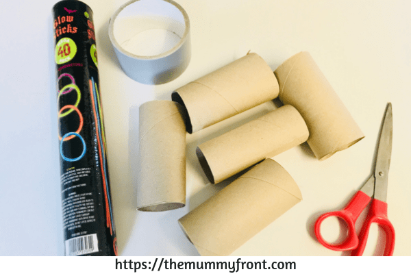 Easy Halloween Crafts ~ Cheap & Easy Spooky Glow Eyes Halloween Craft For Kids, Awesome Cheap Halloween Party Idea