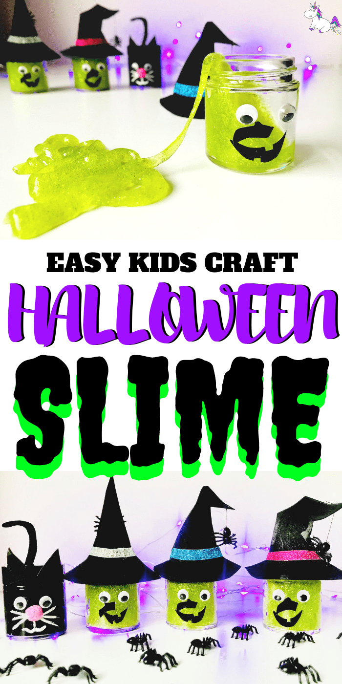 Halloween Slime Tutorial | Cute slime jars | Halloween slime jars your kids will adore | | easy slime recipe | Slime with glue | Slime no borax | halloween craft ideas | Diy halloween #halloween #kidscrafts #kidshalloweencraft #slime #halloweenslime