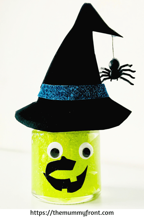 Halloween Slime - The best Halloween slime jar tutorial | cute halloween craft | slime jars | easy slime recipe