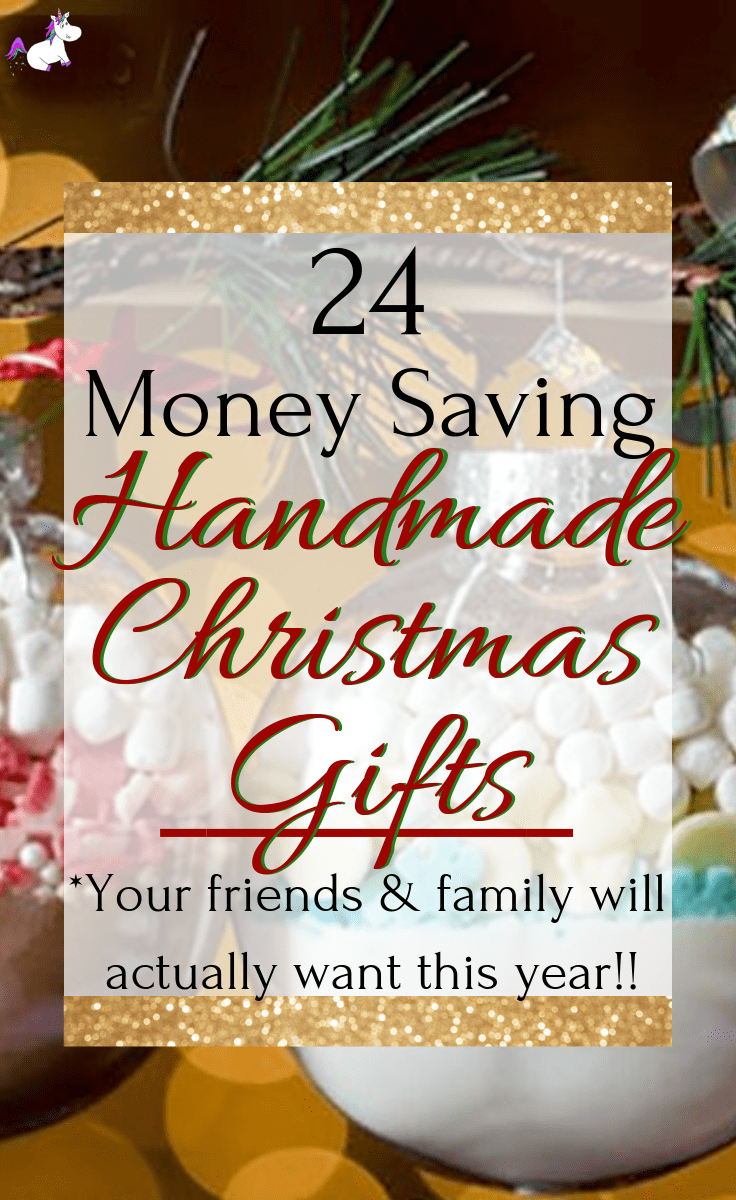 24 DIY Christmas Gifts That Your Friends & Family Will Actually Want To Get This Year!! This list of simple handmade gifts has something for everyone so you can keep to your budget this Christmas & still make everyone happy with a meaningful gift you've made yourself | Via: https://themummyfront.com #diychristmasgifts #handmadegiftideas #homemadechristamsgifts #easydiygift #christmascrafts #themummyfront #diychristmas