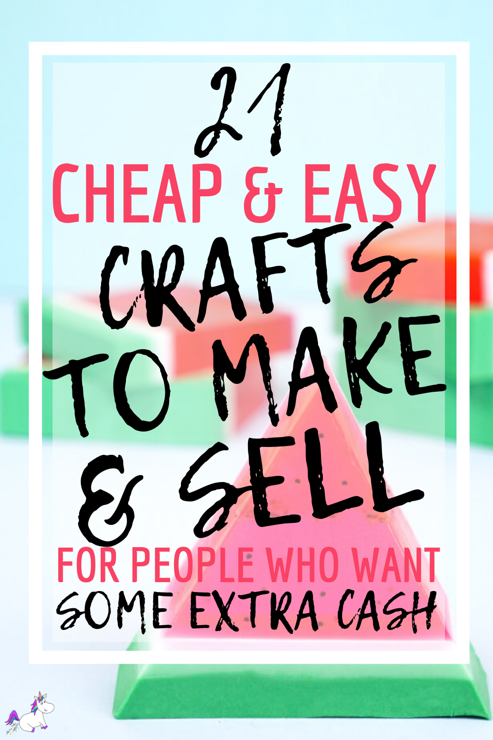 21 Brilliant Crafts To Make and Sell For People Who Like Extra Cash! #themummyfront