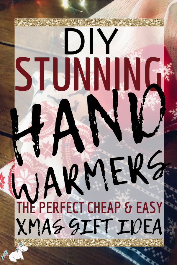 Stunning DIY Hand Warmers Are The Perfect Cheap & Easy DIY gifts idea! If you're looking for DIY Christmas Gifts this year then look no further than these cute mini hand warmers that your friends & family will love to receive! #diychristmasgiftideas #diychristmasgifts #diygifts #diygiftideas #diygiftsforfriends #craftstomakeandsell #themummyfront
