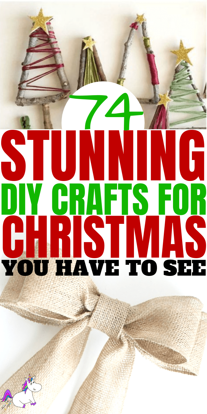 74 Stunning DIY Christmas Crafts That Are Cheap and Easy To Make | Handmade gift ideas, DIY Christmas Tree Decorations, Easy Diy Decorations, Handmade Christmas Gifts and more Via: https://themummyfront.com #christamasguide #christmasgifts #christmasdecorations #festive #diychristmasgiftideas
