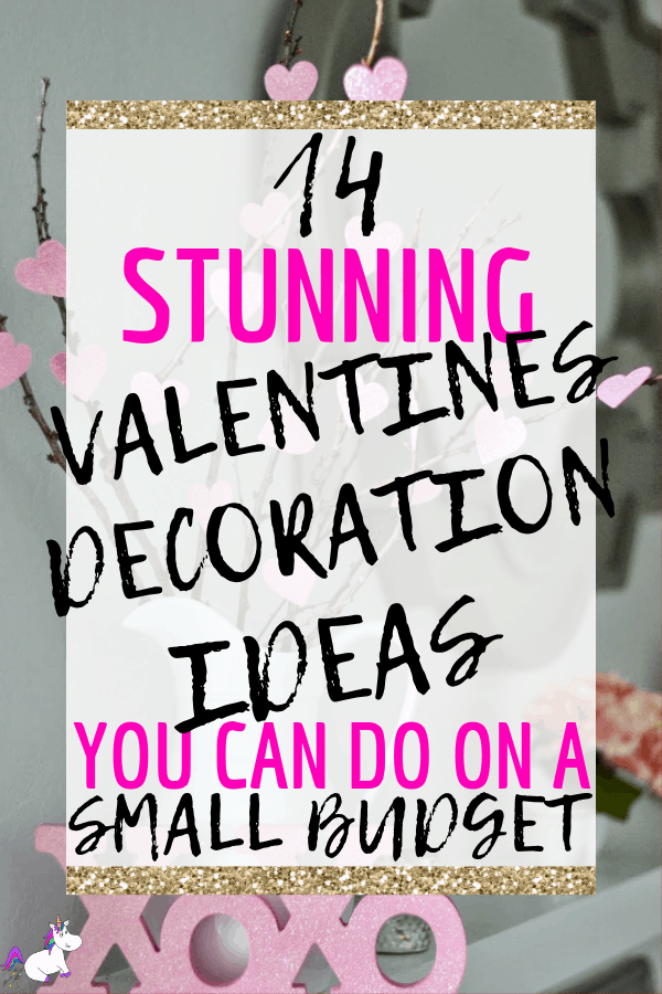 14 Stunning Valentines Day Home Decor Ideas You Can Do On A Tiny Budget | #valentinesdaydecor | #valentinesday | #themummyfront Via: https://themummyfront.com #valentinesideas