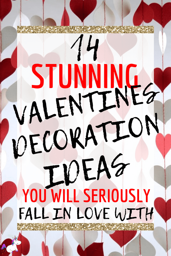 14 Stunning Valentine's Day Decoration Ideas you Will Seriously Fall In Love With This Year! #valentinesdaydecorationideas #valentines #valentinesdaycrafts #valentinesdecor Valentines decor for the home