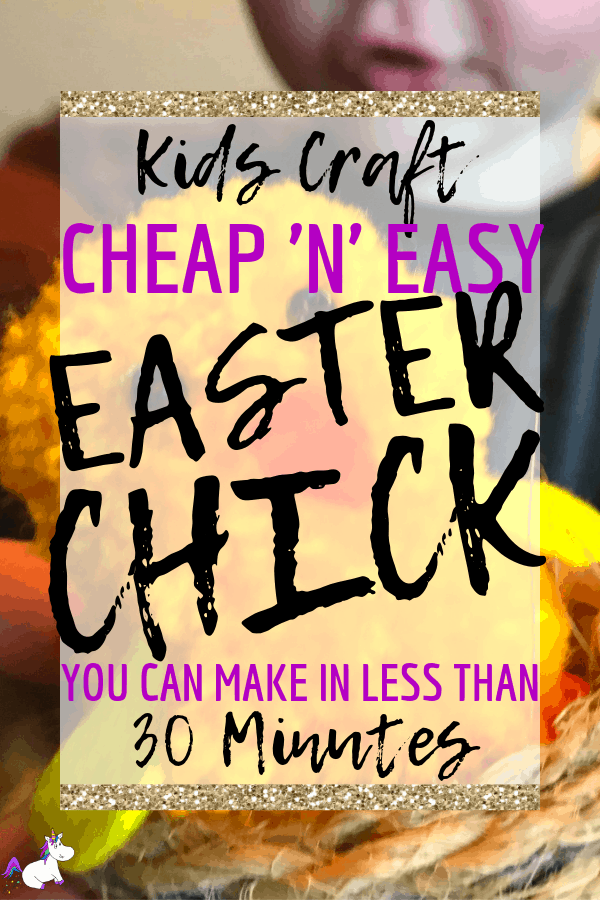 Easy Easter Craft | Quick & Easy Easter Chick You Can Make In Less Than 30 Minutes | Easy Easter Craft | Easter Activities | Pom Pom Craft | Crafts To Make and Sell | Via: https://themummyfront.com #themummyfront.com #easterchick #eastercraft #eastercraftsforkids #easteractivities #easycrafts #craftstosell #easter