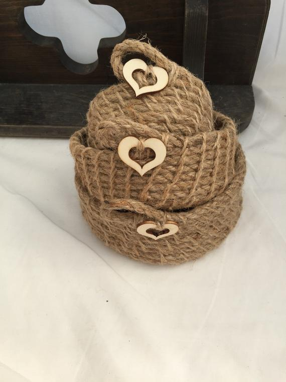 beautiful baskets like these are one of the best Valentine's day decoration ideas