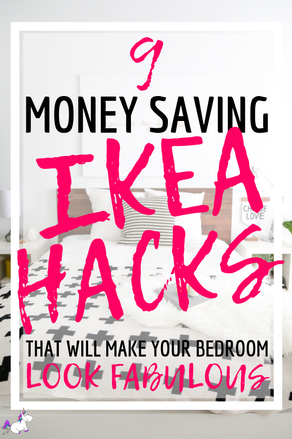 9 Stunning Ikea bedroom hacks You Need To Try Right Now | Ikea | Ikea hacks | DIY home decor | Bedroom home Decor | Via: https://themummyfront.com #themummyfront #diyhomedecor #ikehacks #ikeahack #ikeabedroomhacks #furniturehacks