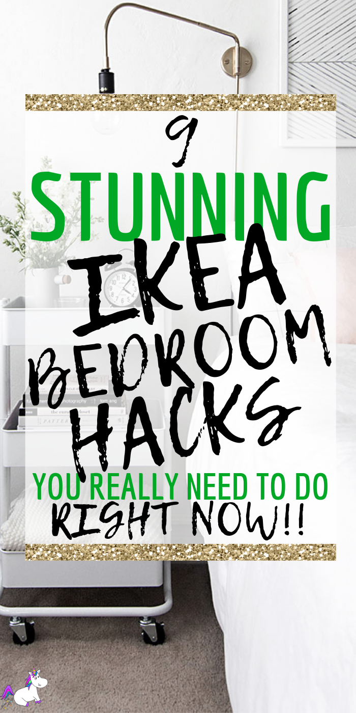 9 Stunning Ikea bedroom hacks You Need To Try Right Now | Ikea | Ikea hacks | Ikea DIY | DIY Projects for the home | Bedroom home Decor | Via: https://themummyfront.com #themummyfront #diyhomedecor #ikehacks #ikeahack #ikeabedroomhacks #smallbedroominspiration #bedroomgoals #homedecoronabudget