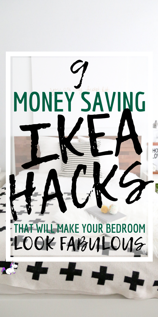 9 Stunning Ikea bedroom hacks You Need To Try Right Now | Ikea | Ikea hacks | Ikea DIY | DIY Projects | Bedroom home Decor inspiration | Via: https://themummyfront.com #themummyfront #diyhomedecor #ikehacks #ikeahack #ikeabedroomhacks #homedecoronabudget #smallbedroomideas