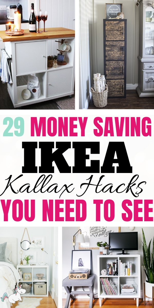 29 Money Saving Ikea Kallax Hacks You Need To See! Are you looking to spruce up your Ikea Kallax Furniture Into Something Bespoke & Amazing? Then Look No Further Than These Fabulous IKEA Hacks That You Can Do On A Budget!