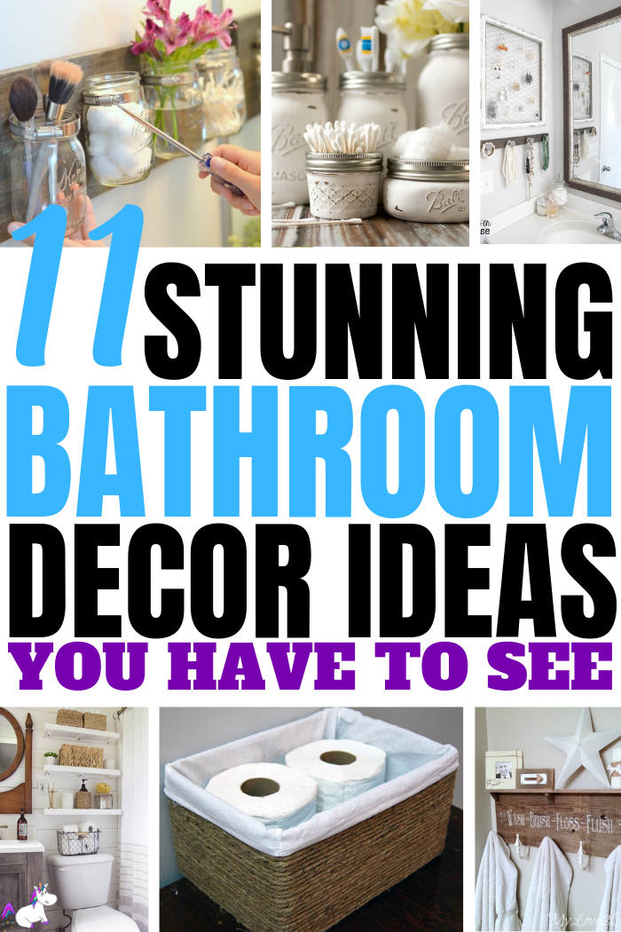 11 Small Bathroom Decor Ideas You Can Diy On A Really Small Budget The Mummy Front