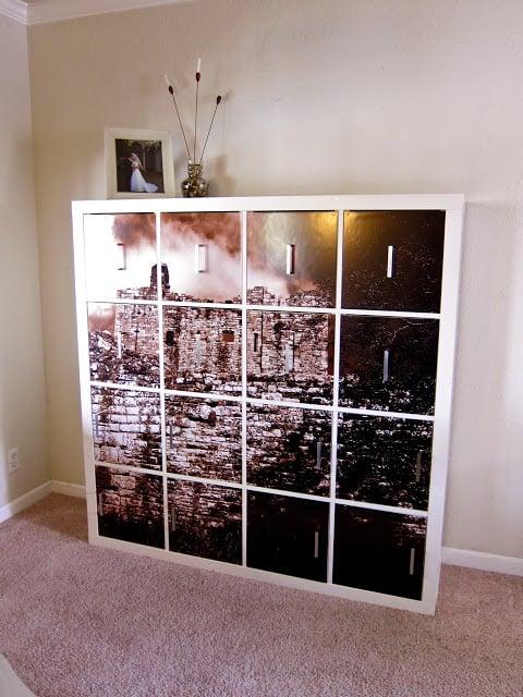DIY Ikea Kallax Doors & Hidden Storage