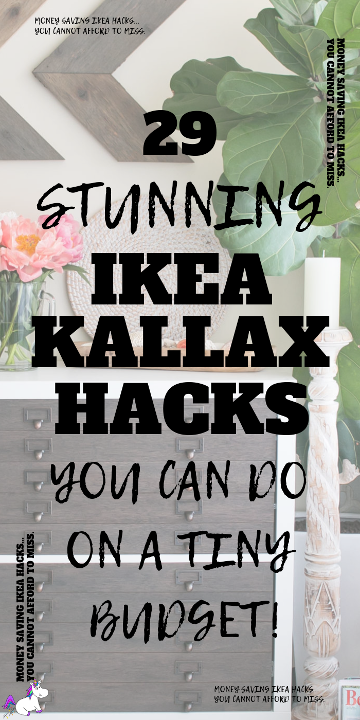 29 Stunning Ikea Kallax Hacks You Can Do On A Tiny Budget! Ikea Hacks | Ikea Kallax Bedroom, entryway, living room; Kitchen Hacks | Via https://themummyfront.com #themummyfront #ikeahacks #ikeakallaxhacks #creativehomedecor #diyhomedecoronabudget