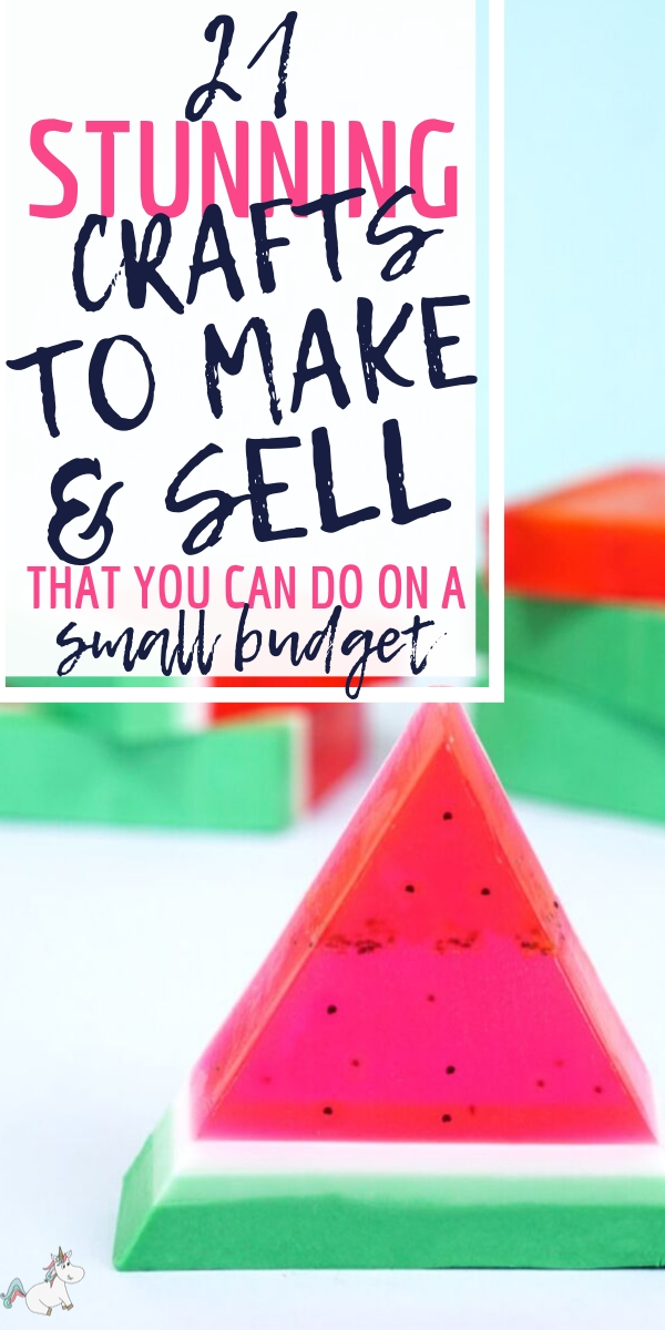 21 Brilliant Crafts To Make and Sell That You Can do on a Really Small Budget! Are you looking to make some extra cash at home with your crafts but have no idea what to create? Look no further than these gorgeous crafts that are all doing well on Etsy