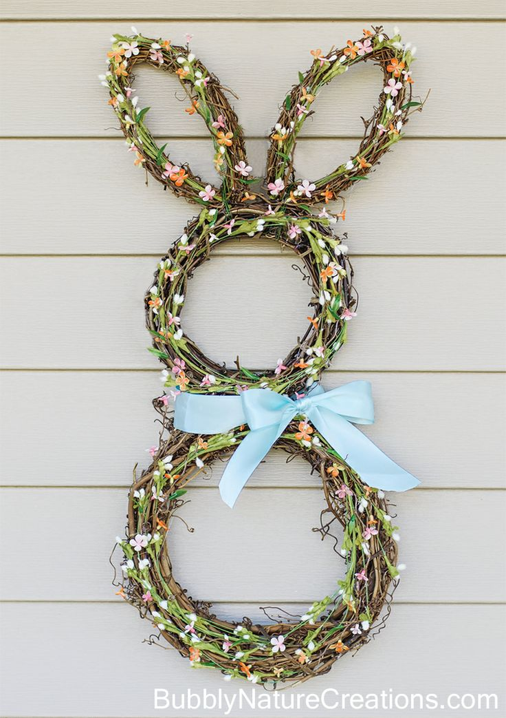 Stunning Easter Bunny Wreath