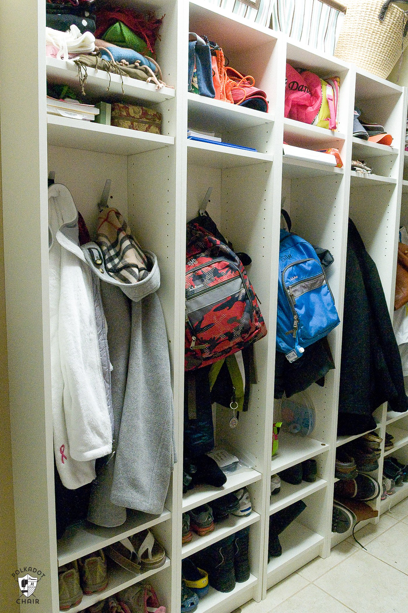 Ikea Billy Bookcase Hacks Coat Storage