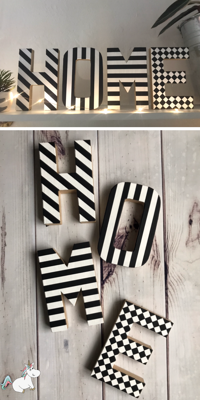 DIY Monogram Letters You Can Make on A Budget! Brilliant Anthropologie knockoff