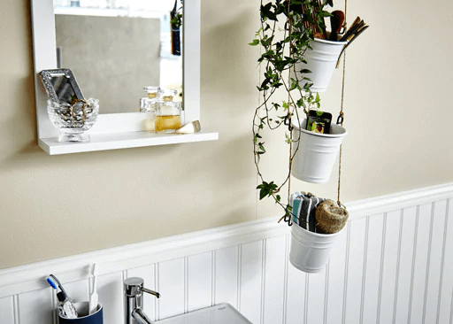 One of the most cost effective and stunning ikea hacks for the bathroom