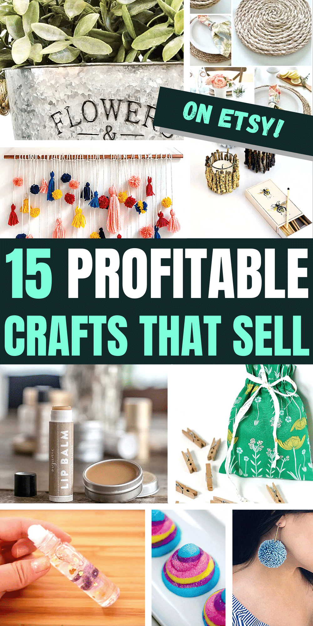 15 Profitable Crafts To Make and Sell