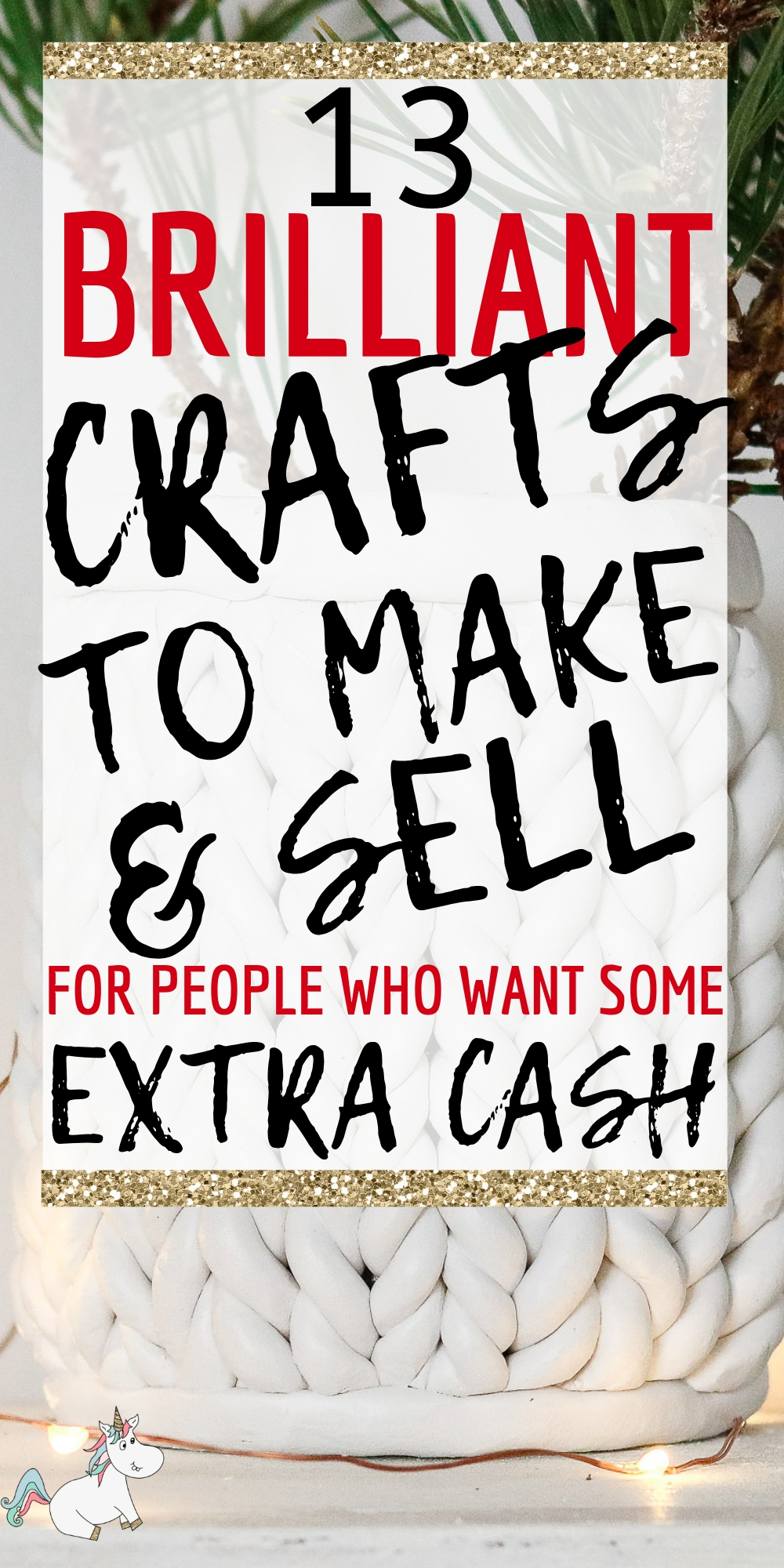 13 Amazing Easy Crafts To Make and Sell For Extra Cash! If you have an online craft business or are looking to start one you'll love these easy crafts to make & sell for profit! They're all cheap crafts that you can do quickly which means you can make money from home quickly! The perfect side hustle idea! Click to check them out! #themummyfront