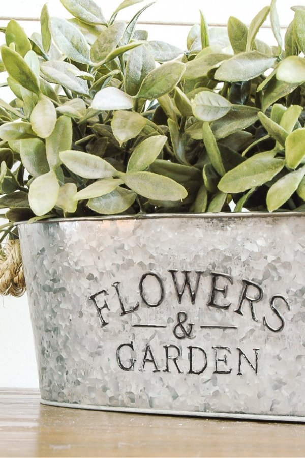 This is a stunning ristic style galvanised planter that is one of the best DIY crafts that sell