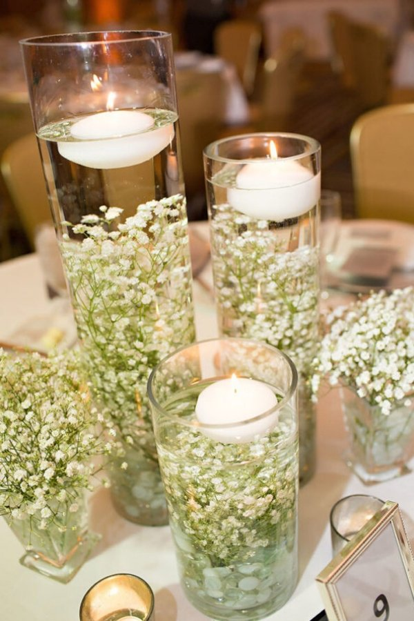 Fantastic DIY Wedding Decoration Centerpiece
