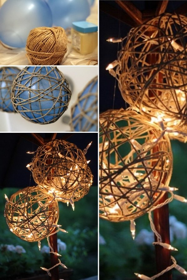 DIY Lanterns a perfect for Rustic and whimsical wedding decorations
