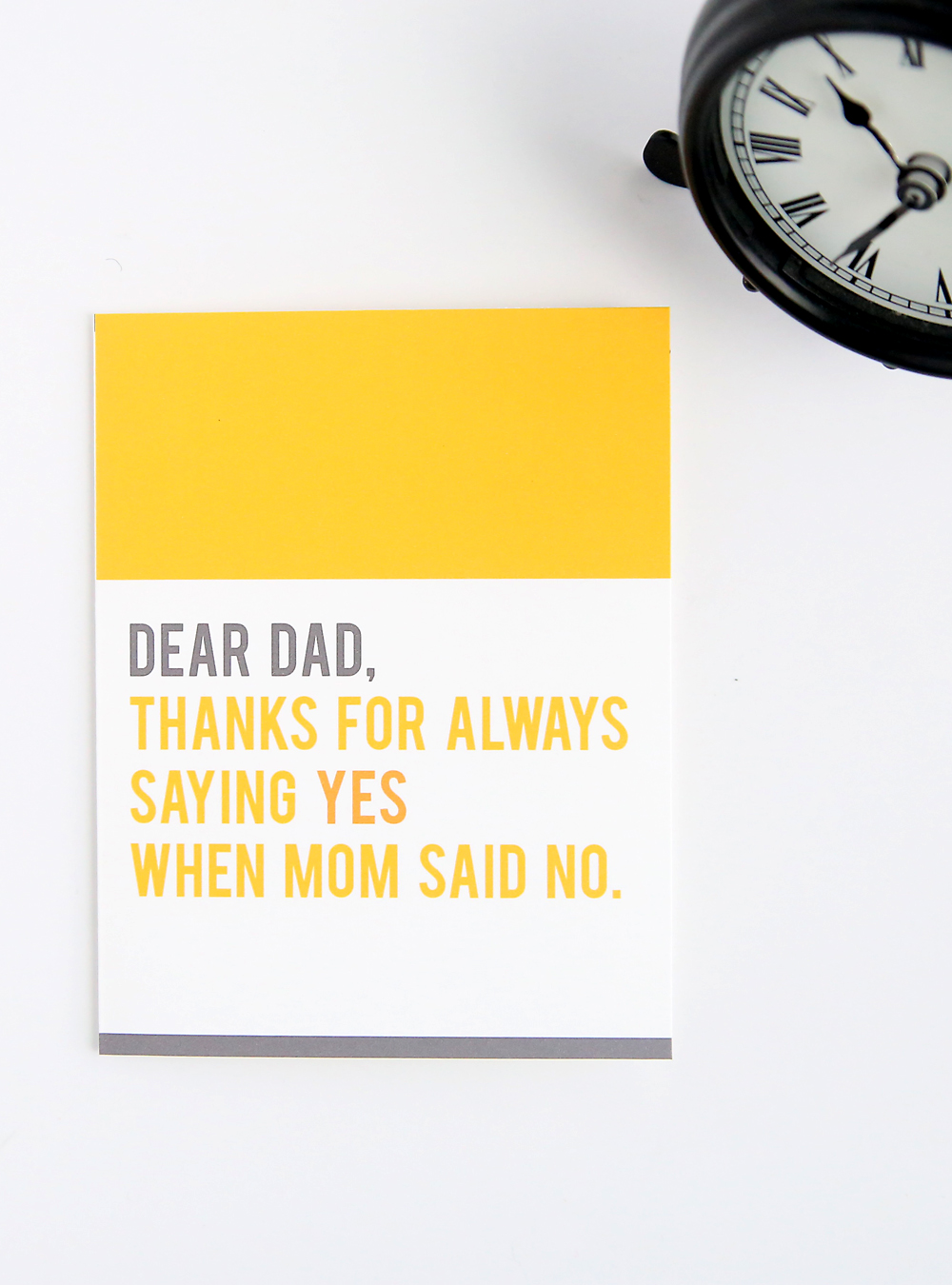 One of the best Printable Fathers Day Cards With A Joke