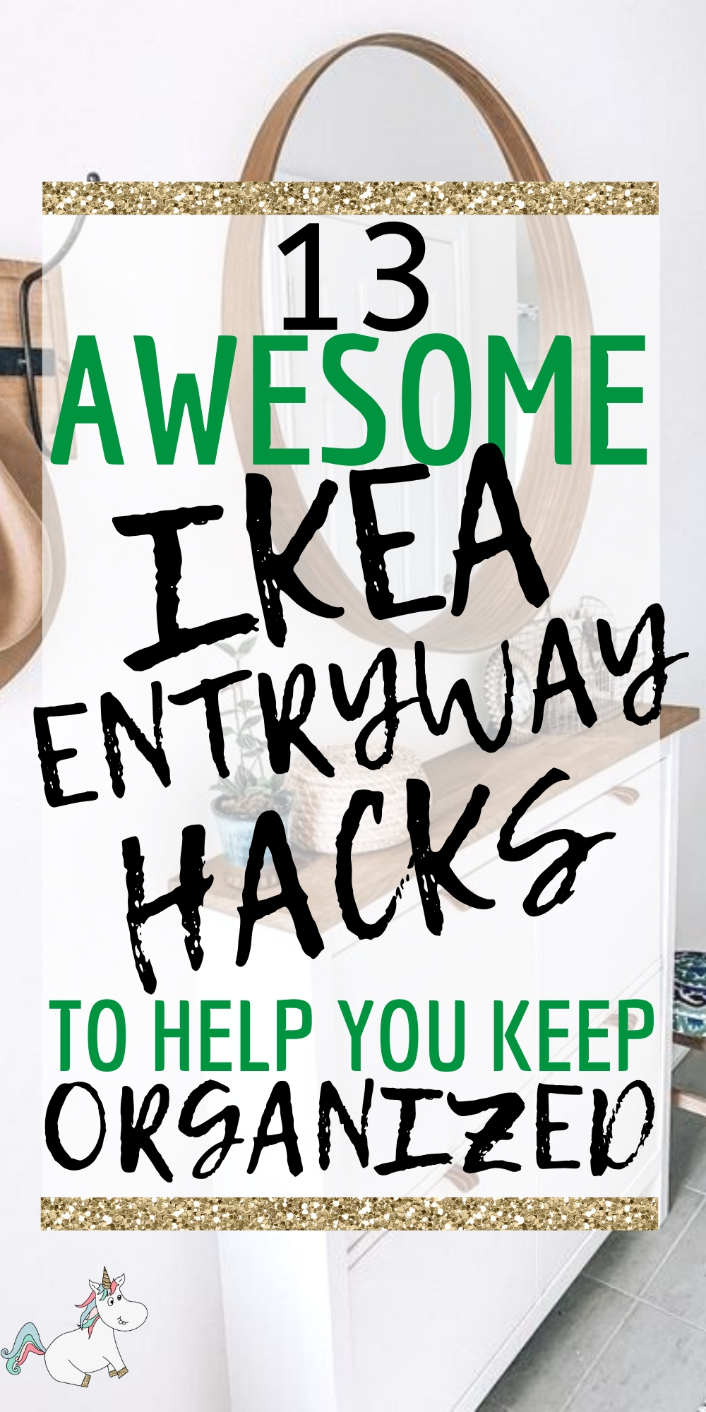 13 Awesome IKEA Entryway Ideas to Help Keep You Organized! Looking for some home decor inspiration for your hallway? Then look no further thanb these IKEA entryway hacks that will get your hallway decor looking stunning and organised! From beautiful mudrooms to shoe storage ideas... these ikea hacks have got you covered! #ikeahacks #ikeahack #entrywaydecor #homedecor