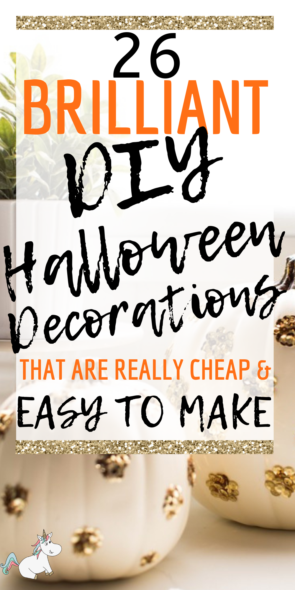 26 Brilliantly Spooky DIY Halloween Decorations That Are Cheap and Easy To Make! #themummyfront