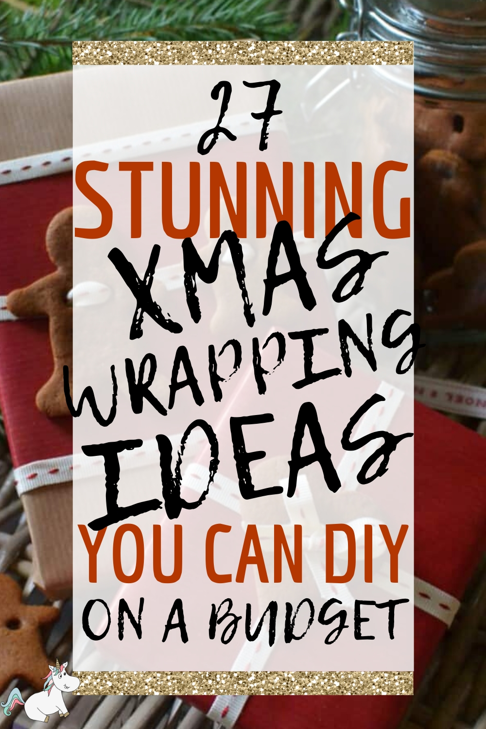 27 Stunning Christmas Gift Wrapping Ideas You Can DIY on a Budget. Are you looking for some beautiful festive wrap ideas to make your gifts even more special? Then look no further than these Christmas gift wrapping ideas that will look stunning under any tree this year... click the pin to check them out #themummyfront