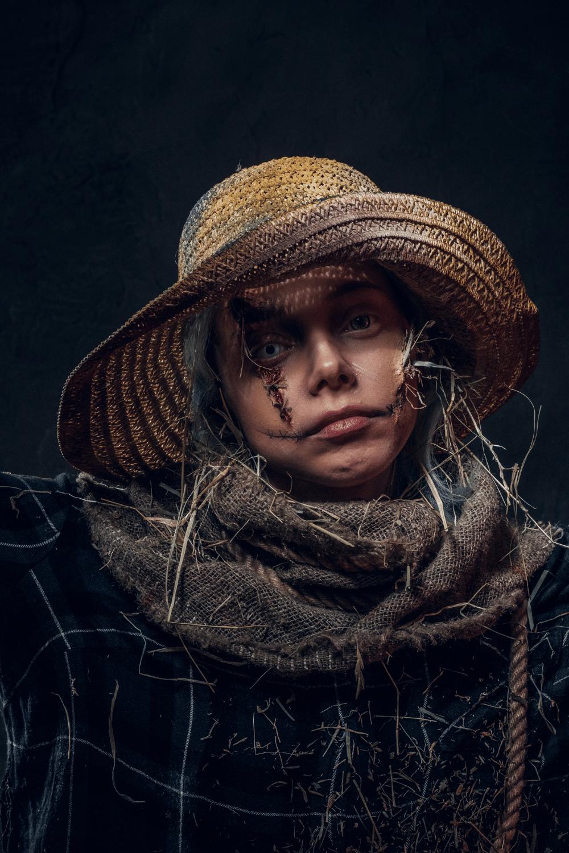 Scary Scarecrow Costume Idea