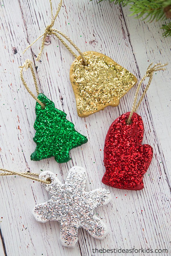 salt dough christmas ornaments recipe