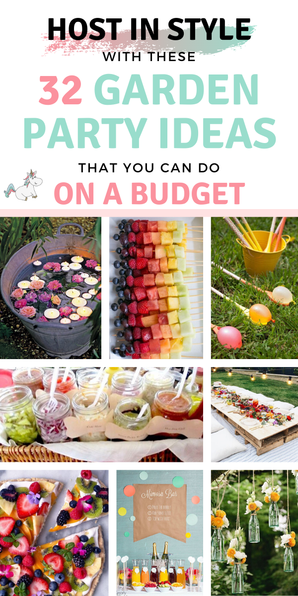 32 Stunning Summer Garden Party Ideas (with pictures) That You Shouldn't Miss In 2019 #summerparty #gardenparty #gardenpartyideas