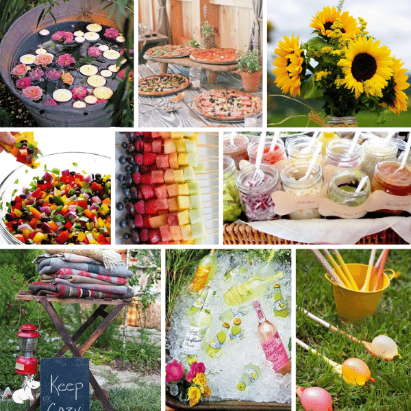 32 Incredible Garden Party Decorations That'll Make Your Party Awesome On a Small Budget #summerparty #partyideas #gardenparty #partydecorations #partyplanning #themummyfront Via: https://themummyfront.com | summer party | party games | party buffet | party food