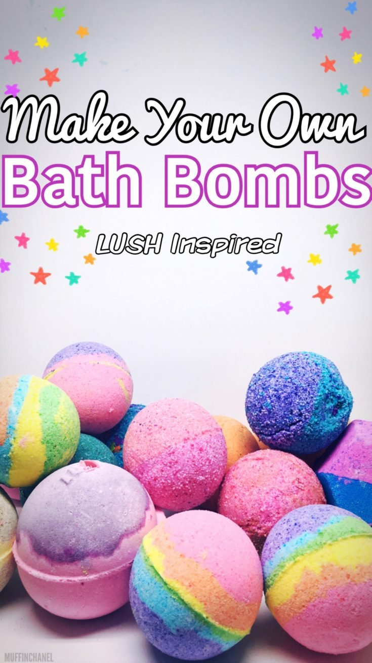 Make Your Own   Bath Bombs *LUSH Inspired*