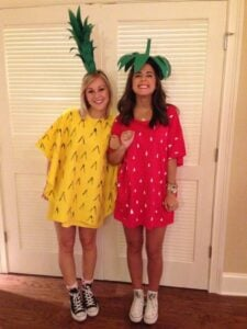 Diy Halloween Costumes For Women Don't get much easier than these fruity ones!